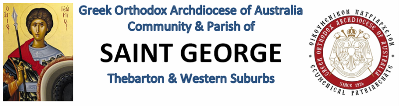 COMMUNITY AND PARISH OF ST GEORGE THEBARTON